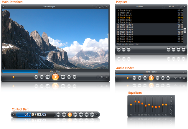 I MIGLIORI PLAYER AUDIO-VIDEO : ZOOM PLAYER